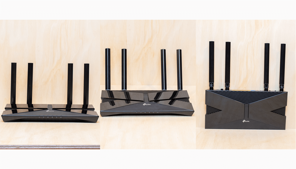 TP-Link Archer AX20のアンテナは3段階に調整可能