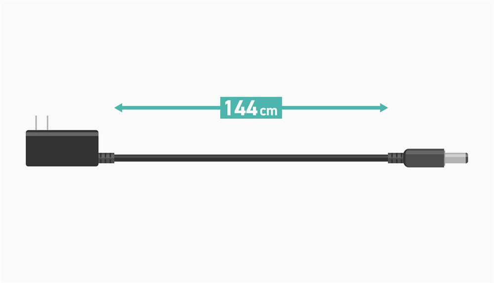 TP-Link Archer AX20の電源コードの長さ