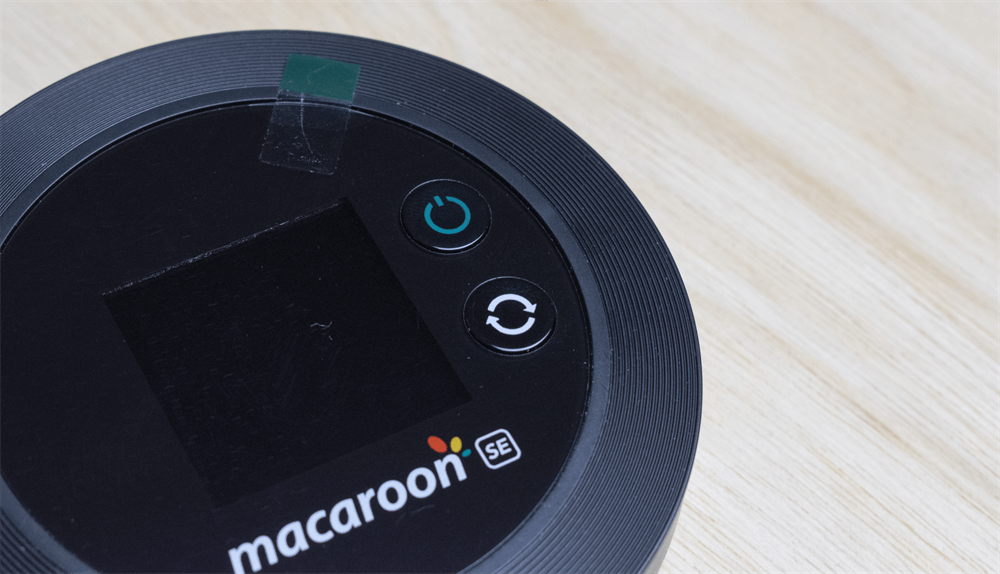 Macaroon SEのボタン類